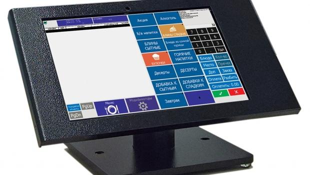 Кассовая станция R-Keeper на планшете в антивандальном корпусе