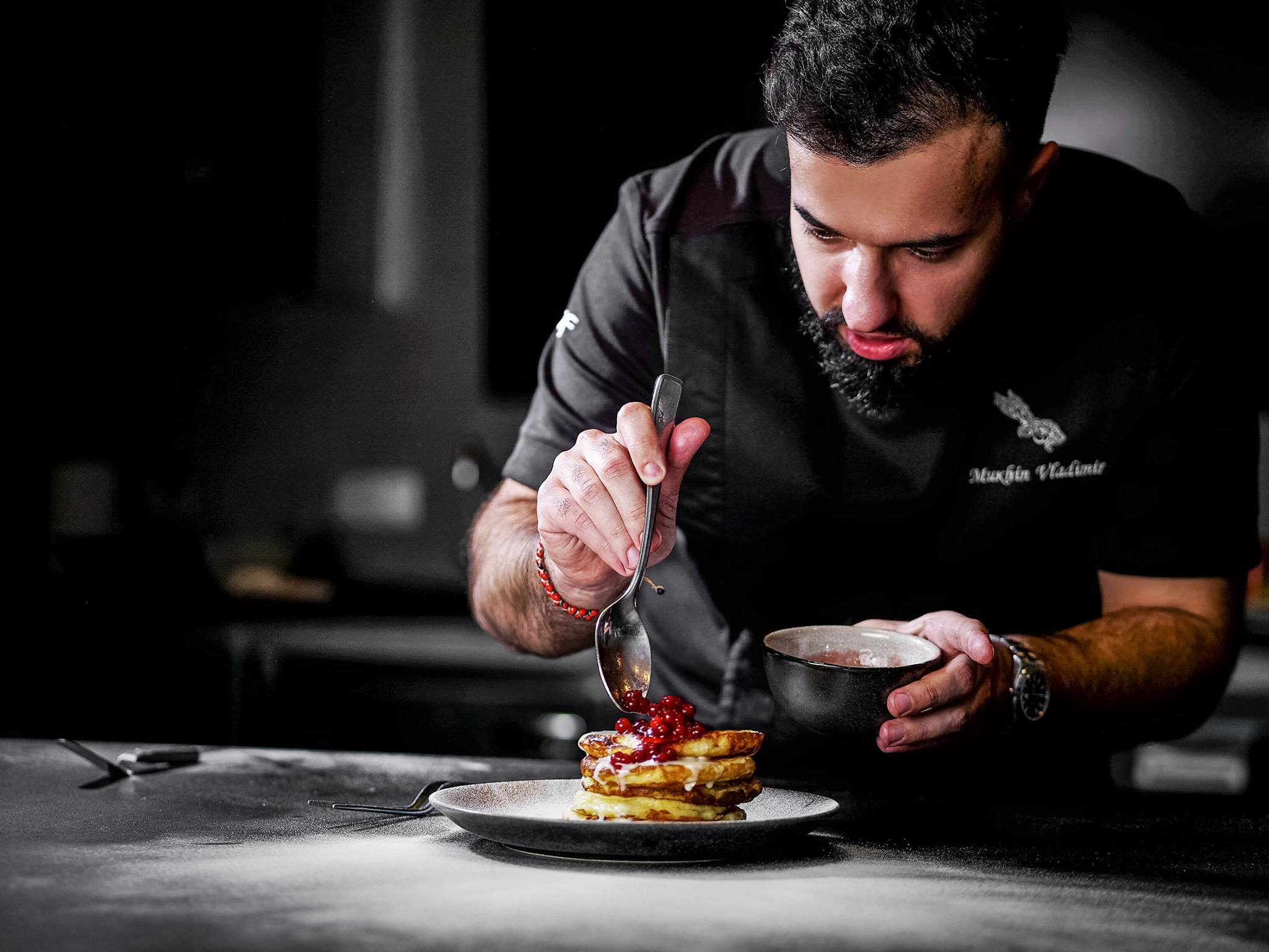 Chef vladimir mukhin the leading creator of contemporary for Art of russian cuisine